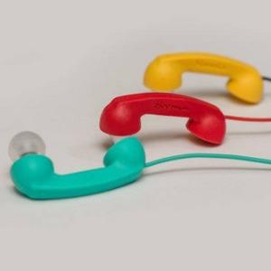[豐] hoomia 好米亞 Bon9聽電話-造型式入耳式立體聲耳機